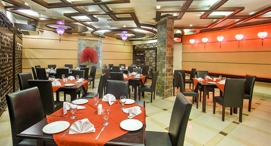 East pan asian restaurant hotel agrabad for Aqua malaysian thai cuisine